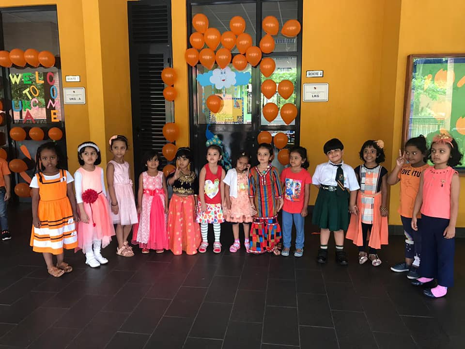 Dheli_Public_School_Orange_Day