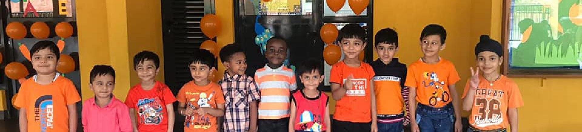 Dheli Public School International_Orange Day